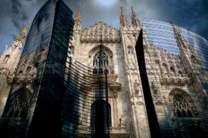 FineArtWebGallery - Donato Chirulli - Old and New Milan